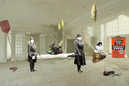 They Die, We Die by Helen Grundy, £100