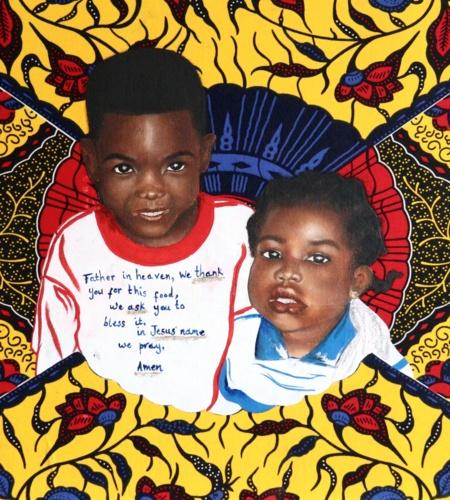 Harare Zimbabwe III, Part of a larger work, Childhood Upbringing Identity Belonging, Alicia-Pearl Cato
