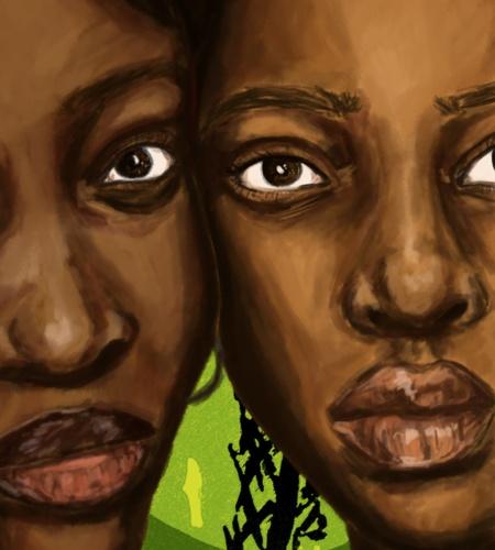 Sisterly love, Davinia Clarke