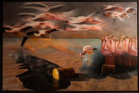 Black Flight by Domenico Pasqua, £5,000