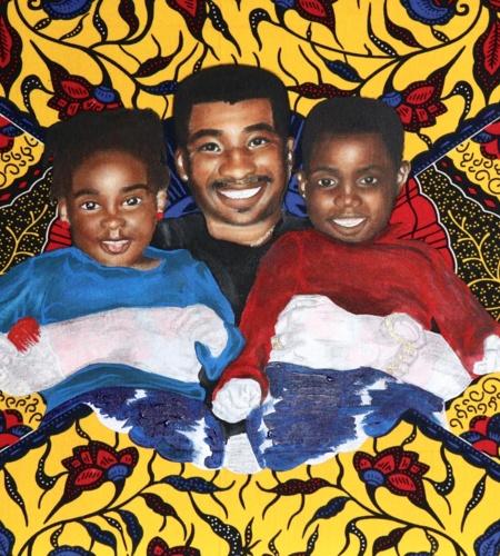 Harare Zimbabwe IV, Part of a larger work, Childhood Upbringing Identity Belonging, Alicia-Pearl Cato